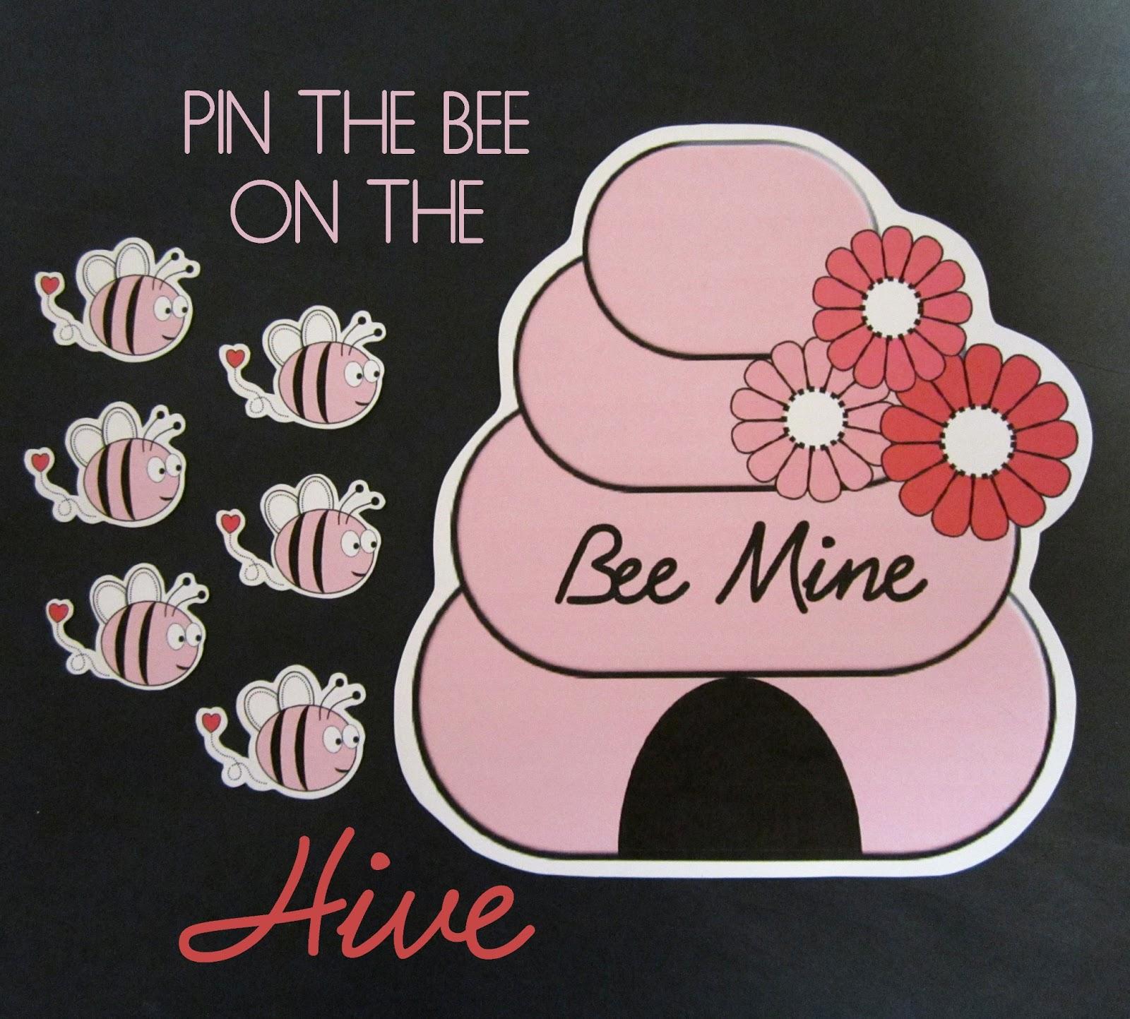 bee my valentine class party activities - Valentines For Kindergarten Class