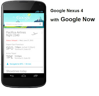 Google Nexus 4 smartphone