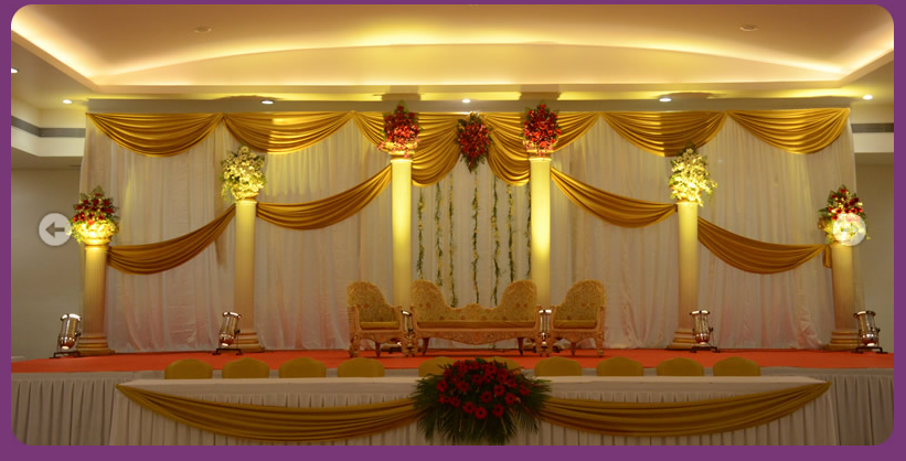 a wedding planner indian wedding and reception stage decorations. Black Bedroom Furniture Sets. Home Design Ideas