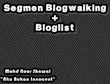 Segmen Blogwalking + Bloglist