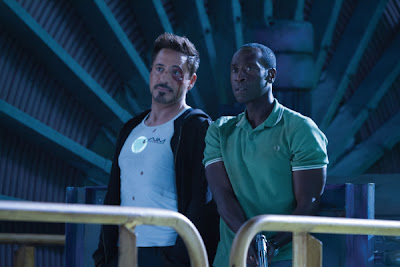 Don Cheadle Robert Downey Iron Man 3