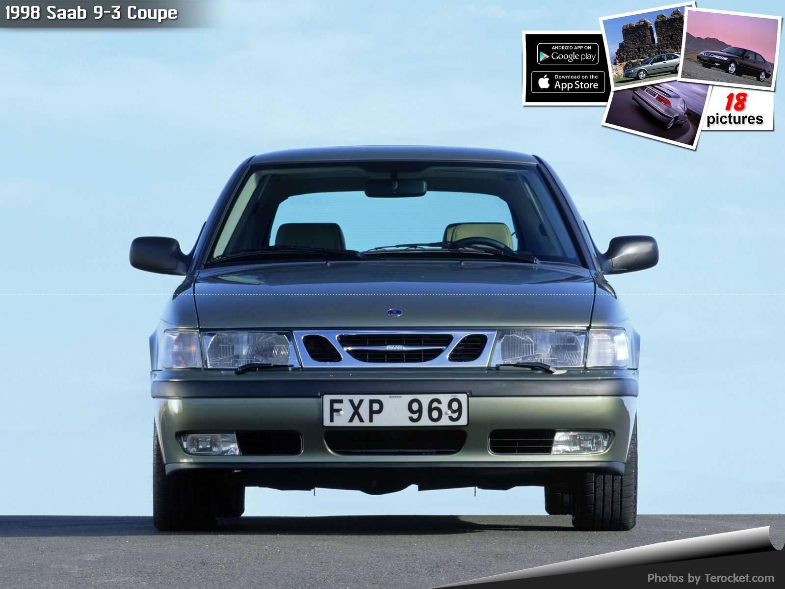 Hình ảnh xe ô tô Saab 9-3 Coupe 1998 & nội ngoại thất