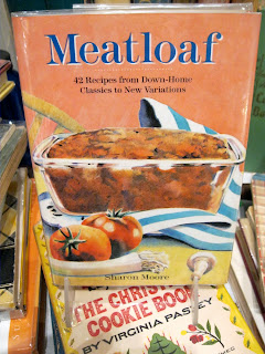 There are 46 ways to make meatloaf in this cookbook that is found at Bonnie Slotnick Cookbooks.