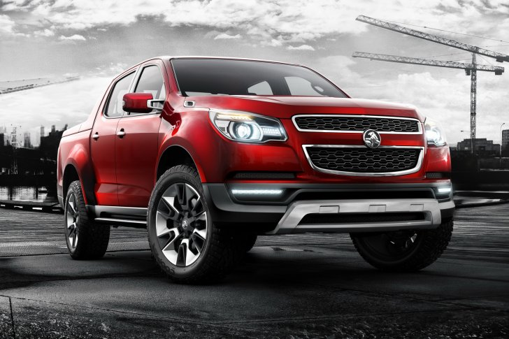 Holden Colorado ปี 2012 แฝดน้อง Chevy Colorado