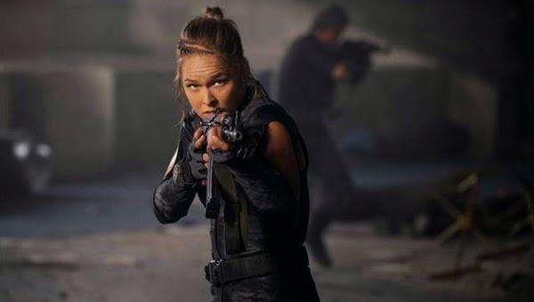 """Ronda Rousey en """"Los Mercenarios 3"""""""