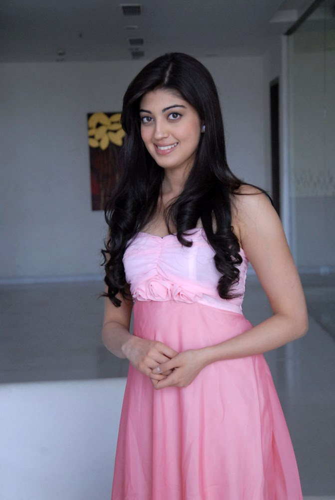 Pranitha Subhash Latest Photos in Pink Dress
