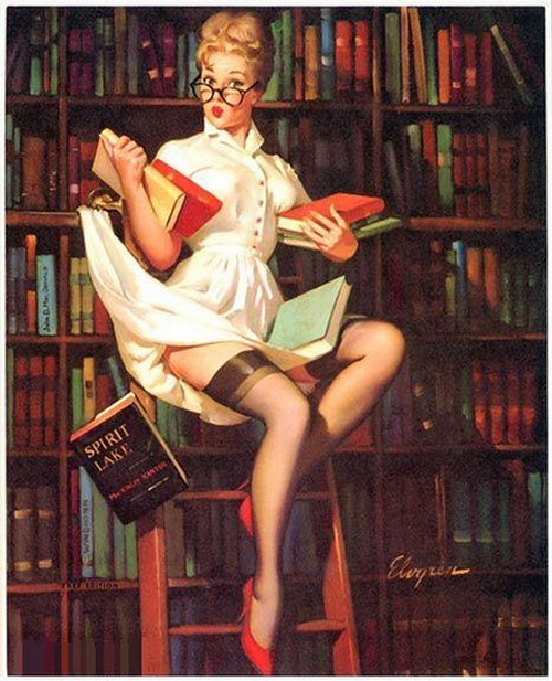 Rare edition (hold everything) - Gil Elvgren