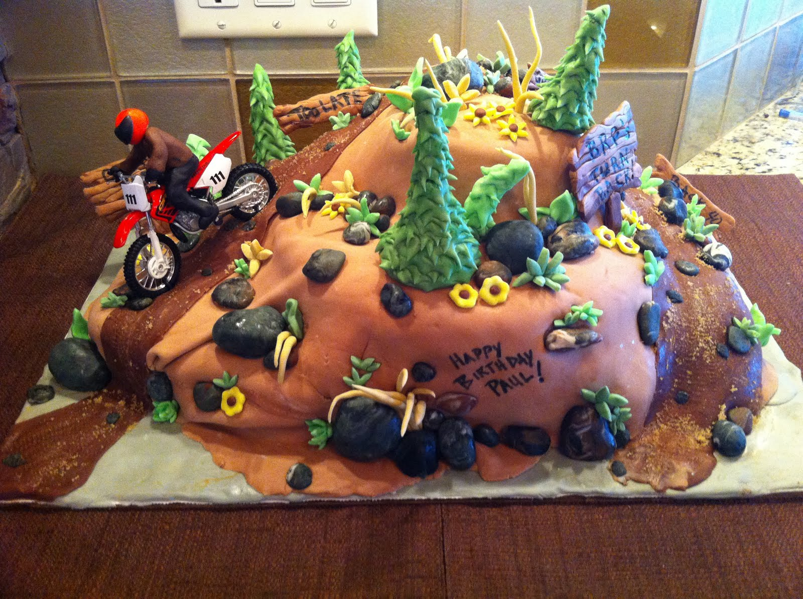 dirt bike cake - photo #20