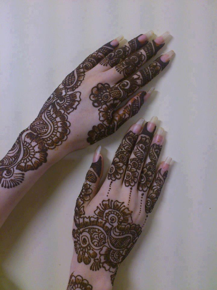 Mehndi Images For Bridal : New bridal mehndi designs wedding style