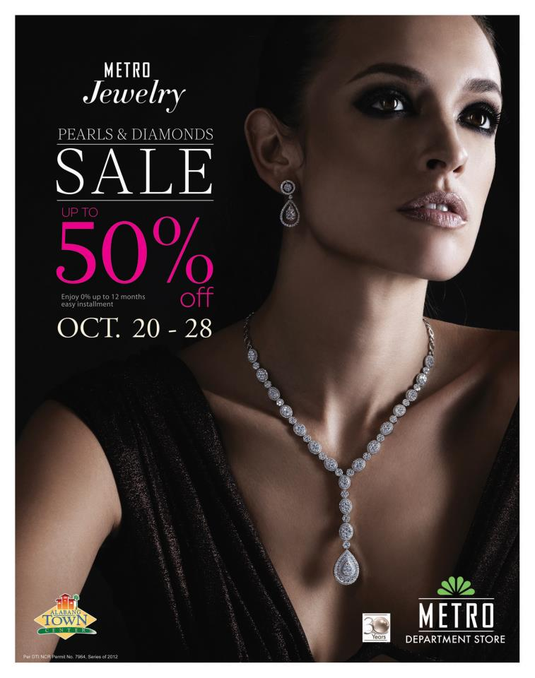Manila shopper metro department stores 39 jewelry sale oct for Jewelry sale online shopping