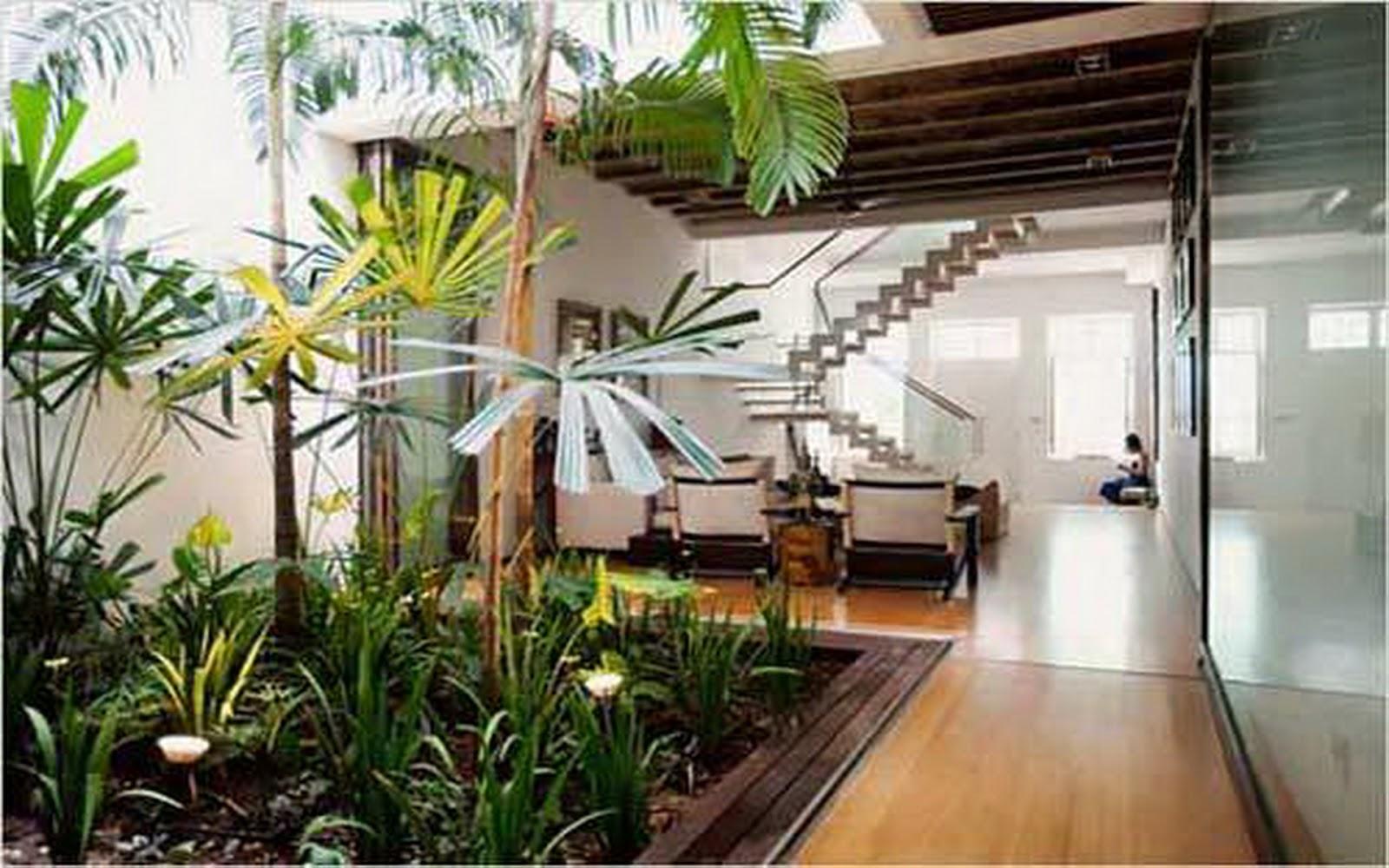 for Ideas de jardines interiores
