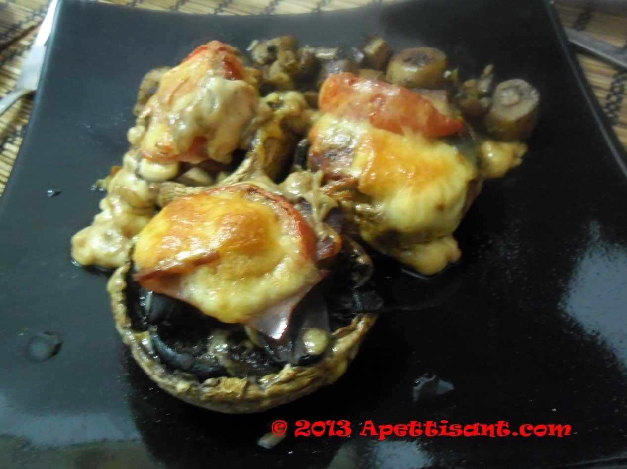Ciuperci umplute la repezeala