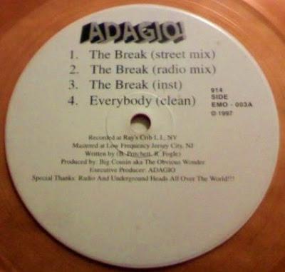 Adagio! – The Break / Everybody / Obvious II / My Girl (1997) (320 kbps)