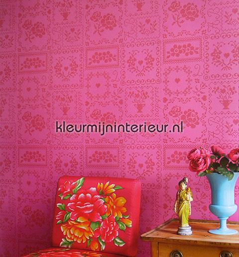 decoración en rosa eijffinger