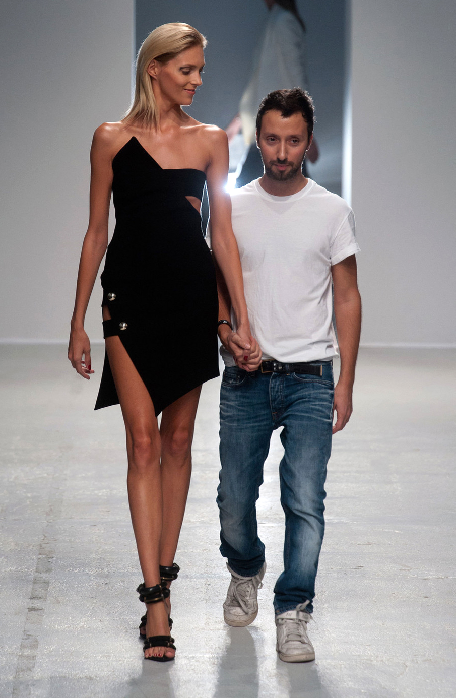 Anthony Vaccarello becomes Versus Versace new creative director / nthony Vaccarello at Antony Vaccarello Spring/Summer 2014 via fashioned by love / british fashion blog