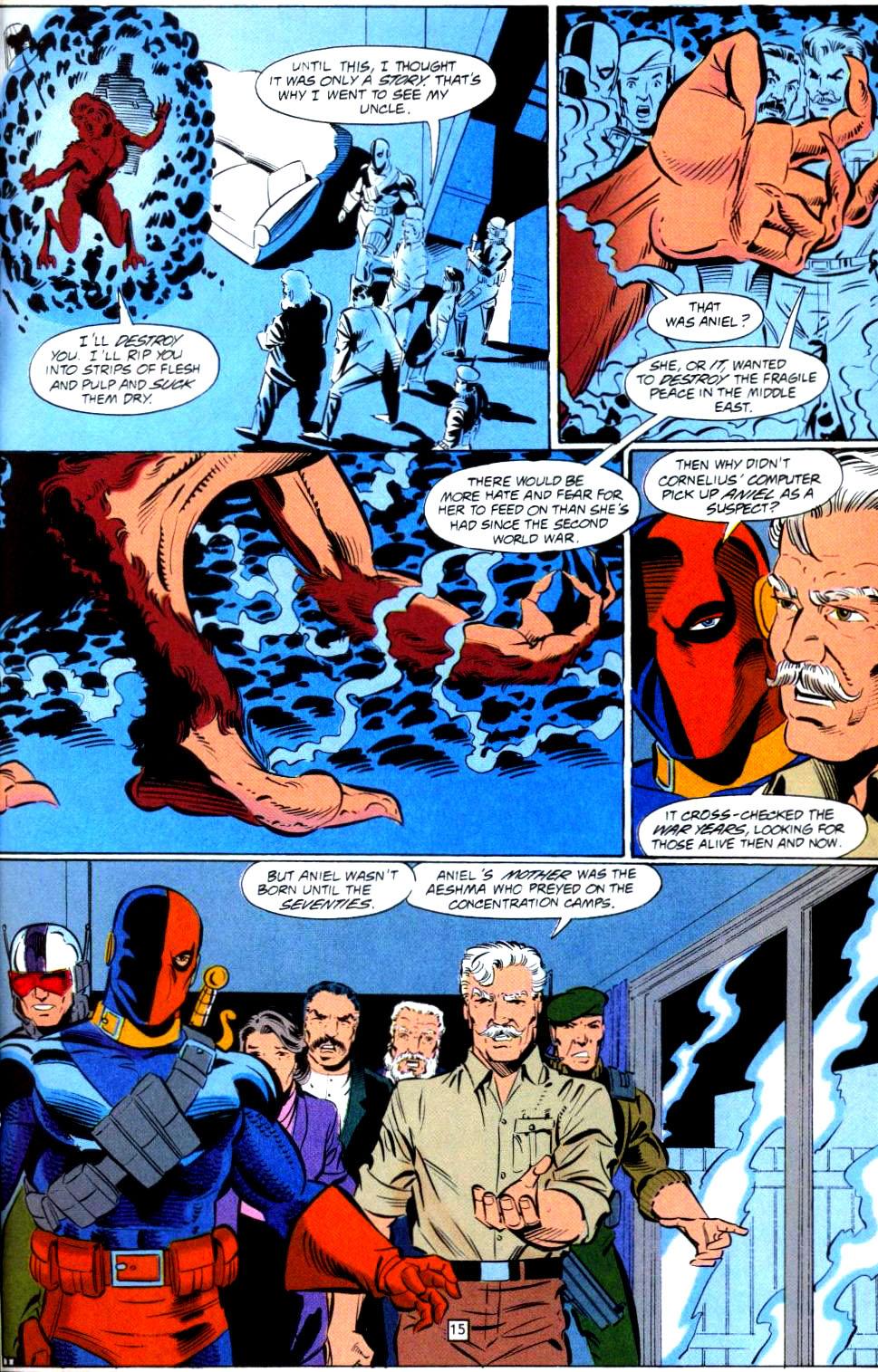Deathstroke (1991) Issue #38 #43 - English 16