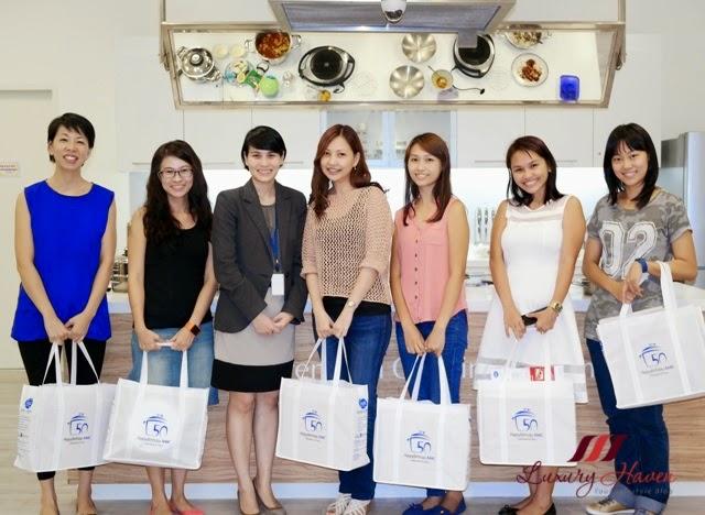 amc premium system singapore mom bloggers event