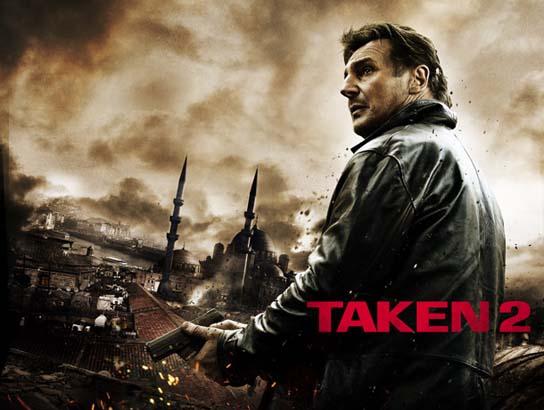 Taken 2 (Takip: İstanbul) film afişi