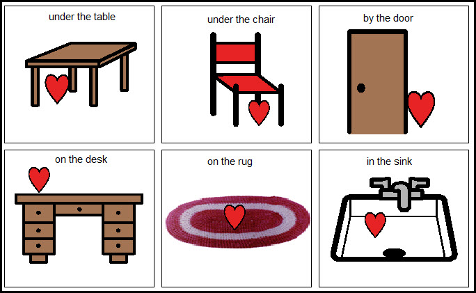 Worksheets Spatial Concepts Worksheets the budget slp hearts speech and language as an extension of this activity use my valentine spatial concepts found at boardmakershare com students choose a card tell or s