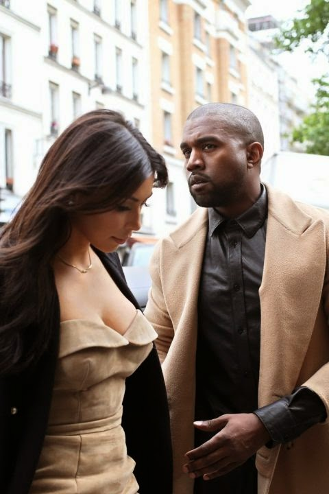 Wedding of the year couple Kim Kardashian and Kanye West