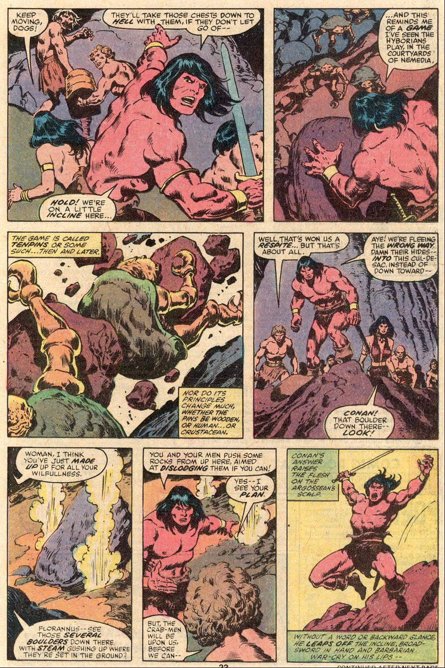 Conan the Barbarian (1970) Issue #99 #111 - English 14