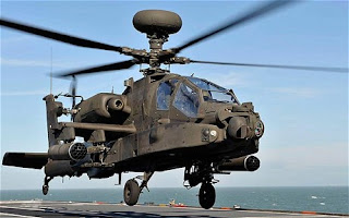 Apache helicopters, Deeper and deeper, Libya, Way Helicopter