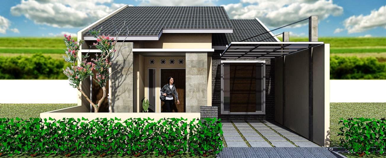 desain rumah minimalis 1 lantai tampak depan gambar foto