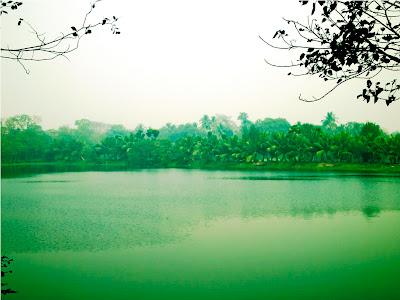 Serene Lake in Kolkata
