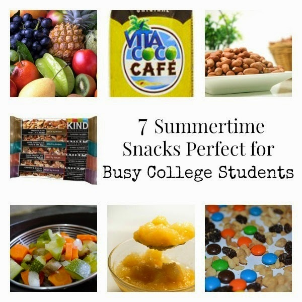 Seven Summertime Snacks Perfect for Busy College Students