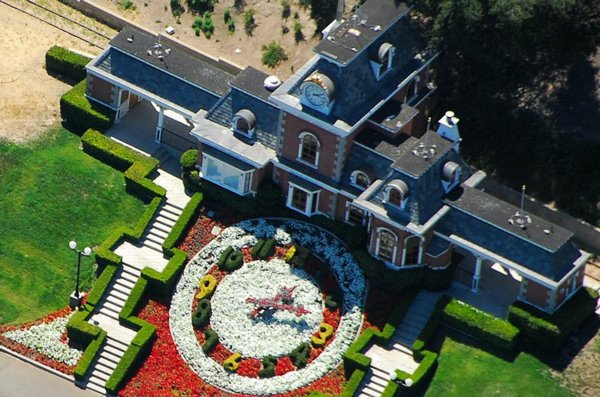 neverland mansion de lujo de michael jackson