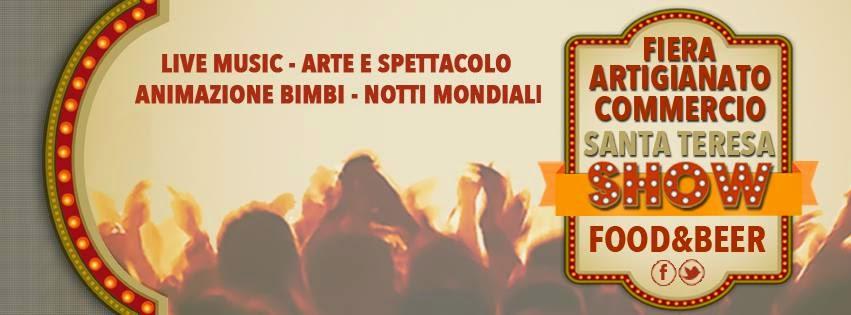 Santa Teresa Show live music, animazione, giochi, notti mondiali a Santa Teresa di Riva (ME)