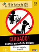 TRABALHO INFANTIL, SOMOS TOTALMENTE CONTRA!