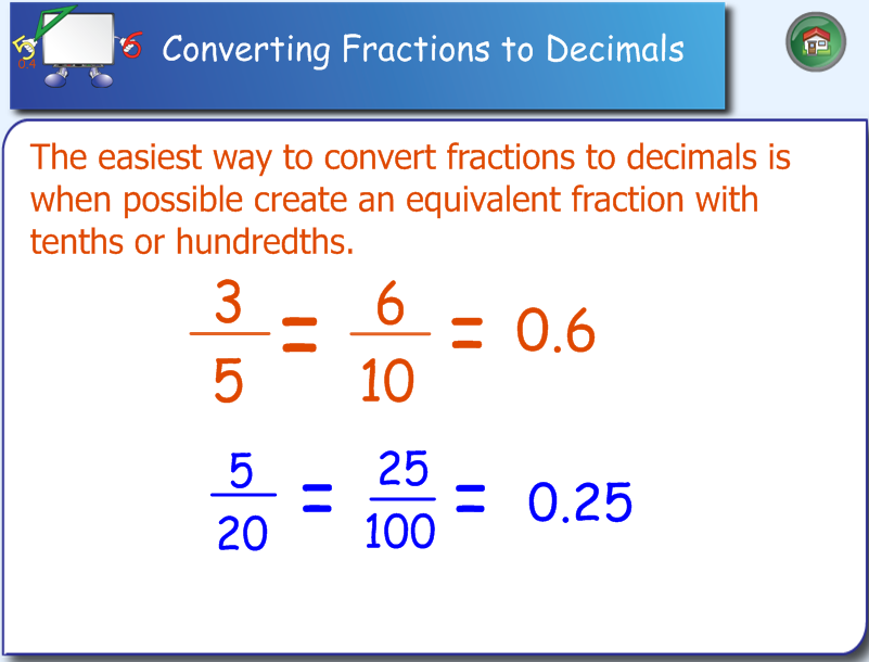 what is a decimal fraction and how to teach it
