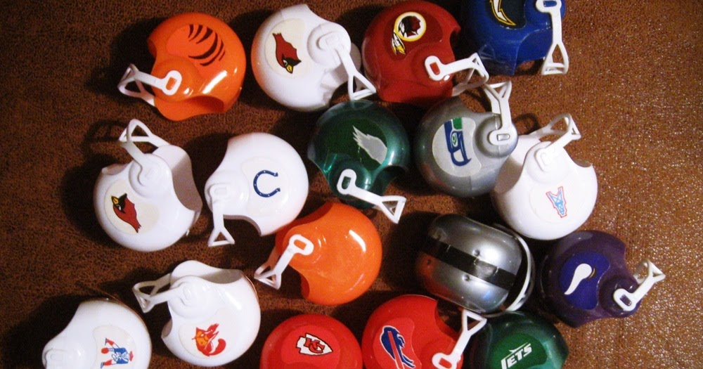 gumball machine football helmets