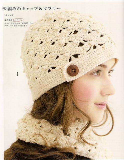 Esquema gorro de lana - Imagui
