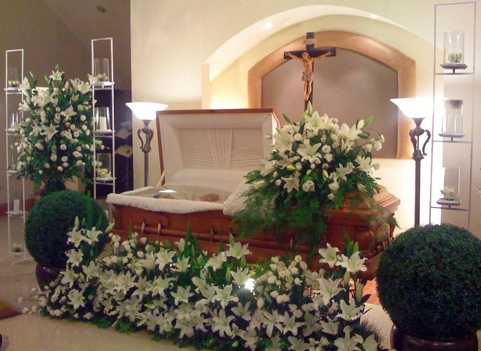Sympathy Flower Arrangements & Funeral Setup