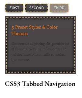 CSS3+Tabbed+Navigation