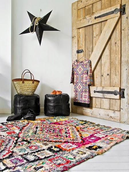 kolorowe dywany