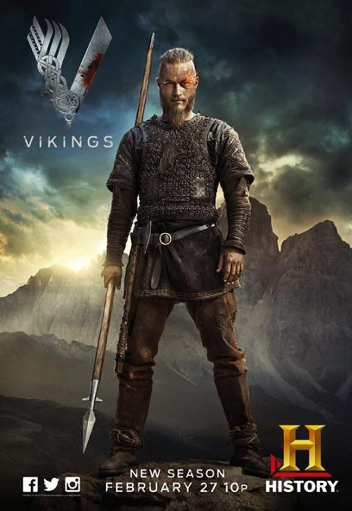 Vikings Temp. 2 (2014) 720p HDTV 600MB mkv AC3 5.1 ch subs español
