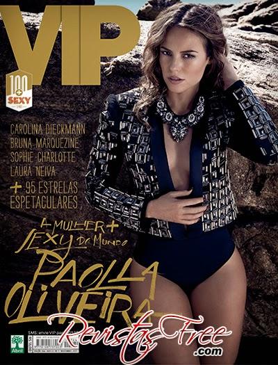 Revista Vip - Paola Oliveira - Novembro 2013