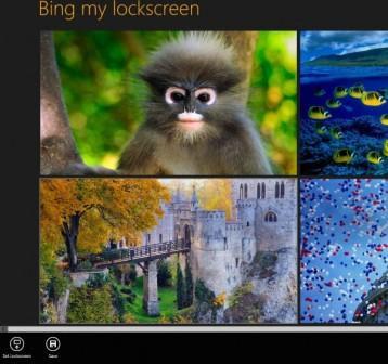 Bing my lock screen