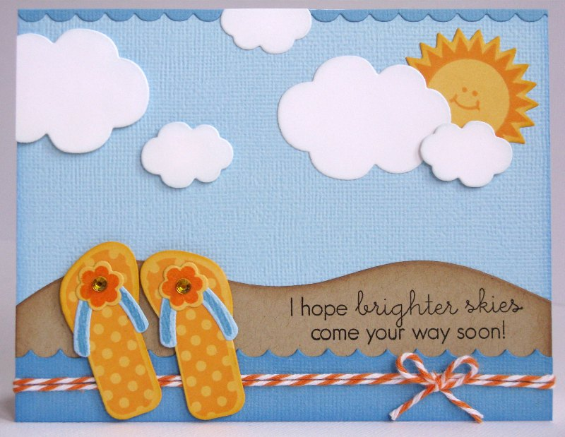 Snippets By Mendi: A Couple of Papertrey Ink Summer Themed Cards