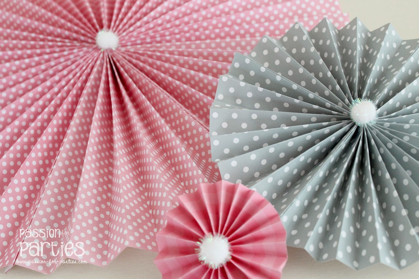 How to make a paper rosette make valentine paper rosettes how to how to make paper rosettes images mightylinksfo
