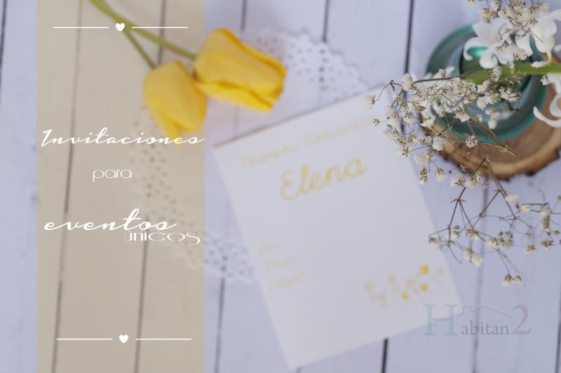 Invitaciones handmade 2015 de Habitan2