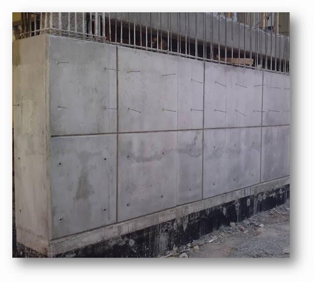 Elementos complementarios arquitectura ugd concreto aparente for Muro de concreto armado