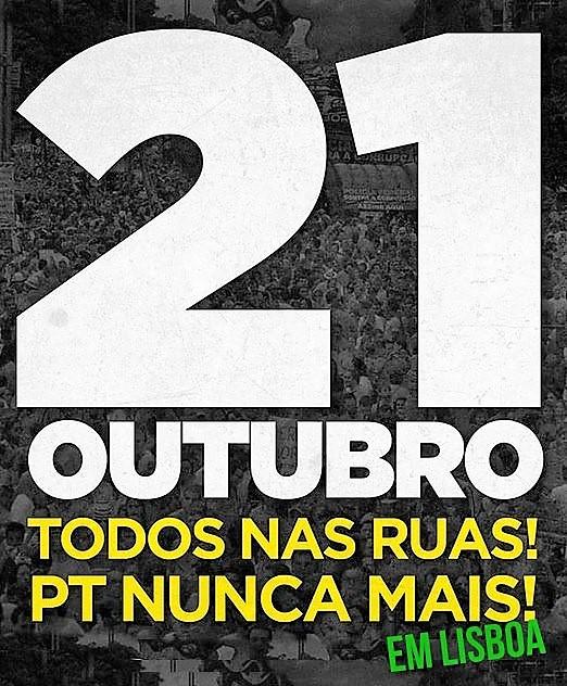 21 de outubro, 16h00: Lisboa