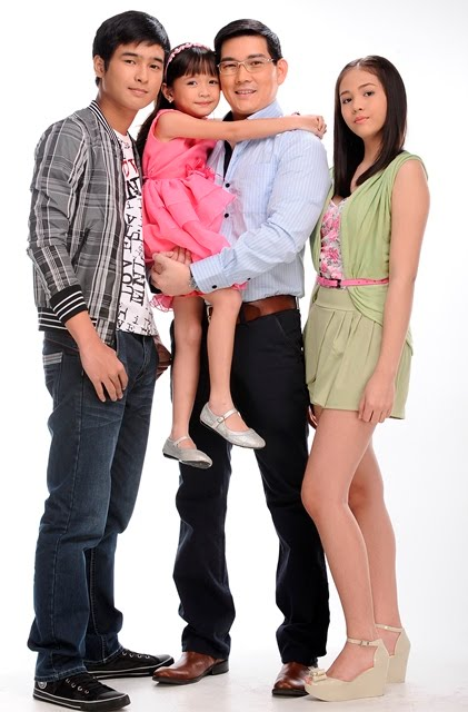 Lim Family: Jerome Perez, Janella Salvador, Mutya Orquia and Mr. Lim, Papa Chen Richard Yap