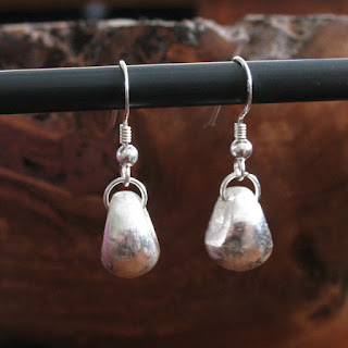 How to make Art Clay Silver Clay earrings