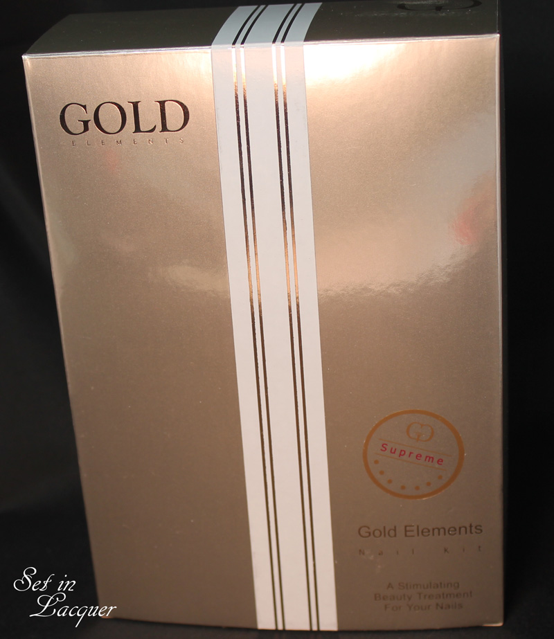 Gold Elements Hand and Nail Care review - Set in Lacquer