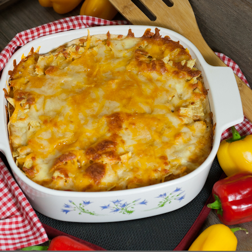 turkey enchilada casserole one dish meals